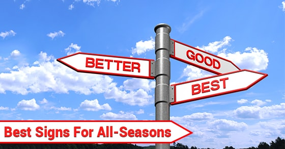 Best Signs For All-Seasons